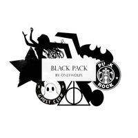 Pack Black / Pack Negro [Pack #8] by OnlyWolfs