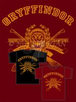 Gryffindor Champions - Tee by Breogan