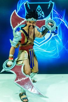 World Draven Championships Cosplay. by JFamily