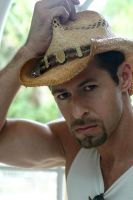 Urban Cowboy Headshot by GlennMichaelImages