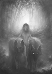 Le temps des loups - time wolves by CyrilBarreaux