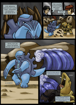 6XL Round One - Fighting while Flushed - P8 by evafortuna