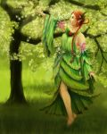 Mieli, Spirit of the Forest by Aliciane