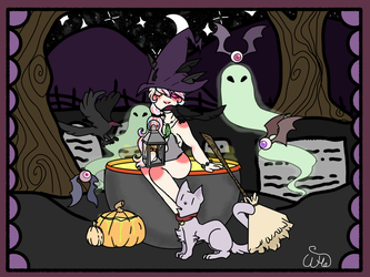 OTA Witch/Warlock Ych Halloween Event(OPEN) by DreamingOfTheWeekend