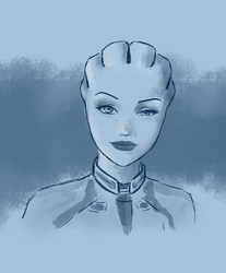 Liara T'soni - expression practice by sylanxi