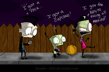 I Got A Rock..OLD AS DIRT by Invader--ZIM