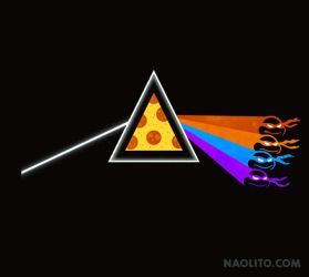 Dark Side of the Pizza by Naolito