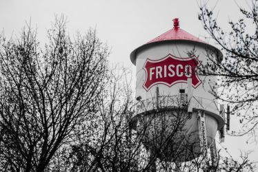 Frisco Watertower by WickedNox