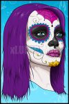 Day of the dead by xluluhimex