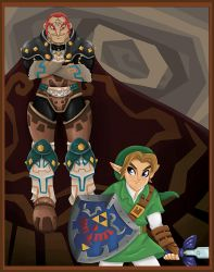 The Legend of Zelda by tskrening