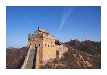 Jinshanling Great Wall I by cb100