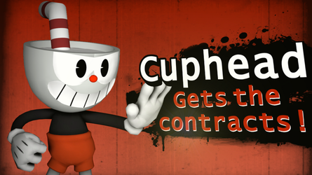 Smash 4 Newcomer: Cuphead by FZone96