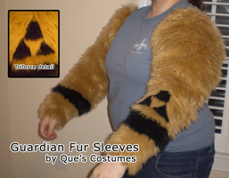Guardian Triforce Fursuit Sleeves by Que-Sera-Sera