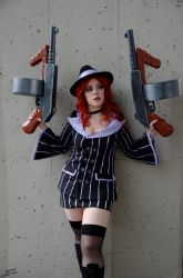 Mafia Miss Fortune cosplay - League of Legends by Galuren