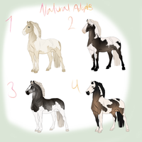 ADOPTABLES (2/4 available) now $2!!! by CATAC0RNY