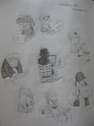 Lil Cafe' sketches by rancid1881