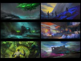 Environment Sketches 10 by pav327