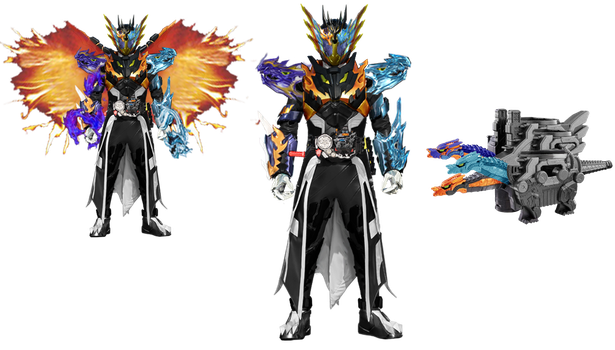 Kamen Rider Cross-Z_Celestial Dragon by tuanenam
