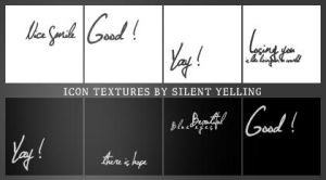 Icon Textures ... by Silent-yelling