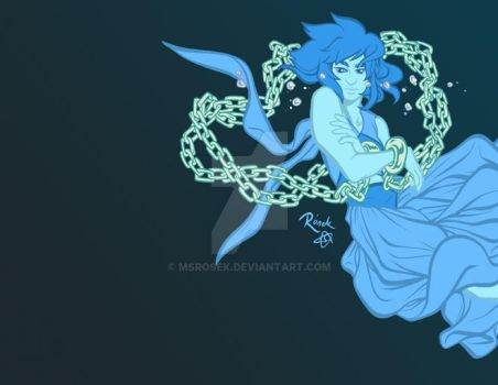 Water witch - colour flats by MsRosek