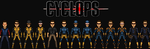 Scott Summers/Cyclops (The MCEU) by KingCozy7