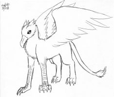 dream gryphon by Talec