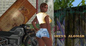 Hot Pants Sheva by DaCommissioner