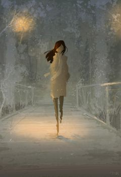 Something about walking through a misty park... by PascalCampion