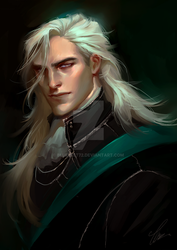 Lucius Malfoy by bluemist72