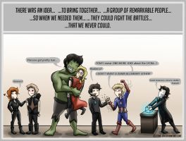 A group of remarkable people by Star-Jem