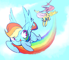 flying pone by dollieguts