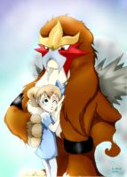Entei, I'm gonna miss you!