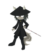 Chibi in Pixels - Cassius (Dust an Elysian Tail) by CuteXiora