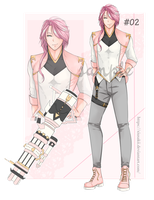[Adopt Special Valentines] Auction 2 [Closed] by Xiusakii