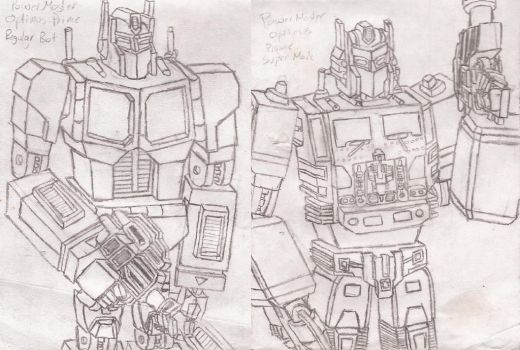 League of the Convoys: Powermaster Optimus Prime by UnicronHound