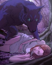 Eyes of a Beast to a Sleeping Rose by StrawberryLoveU