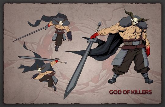 God of Killers by Tongman
