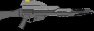 Starfleet Type 36C Phaser Carbine by docwinter