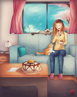 Commission - Home by Sasplayer