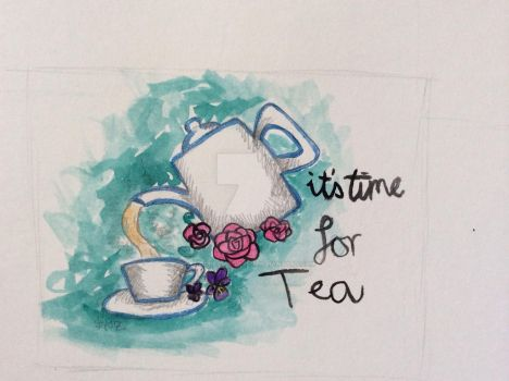 It's time for tea!!!! by scream--qween