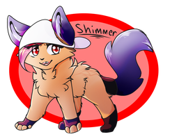 .:Art trade:. Shimmer by Snowfeather248
