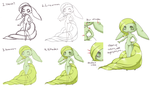 how i draw, color, and shade by CloverWing