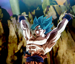 Here We Go! Goku, Genkidama Universe Surv. by Koku78