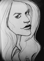 Carrie Mathison sketch by Ciorane