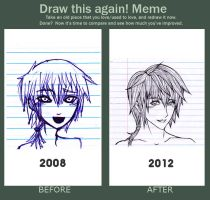 Draw it Again Meme (4 Year Change) by YOU-cee