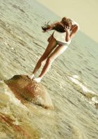 lost in the sea by AnnalauraPhotography