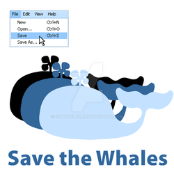 Save the Whales by Getthelulz