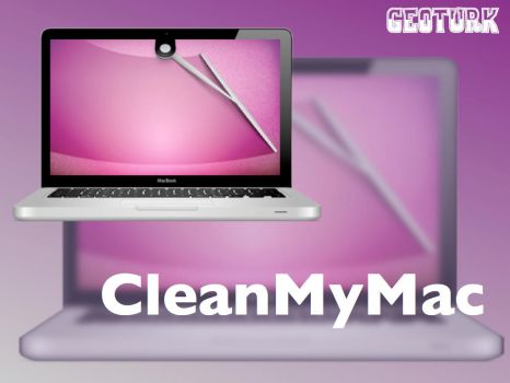 CleanMyMac Macbook Icon by geoturk