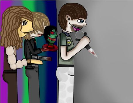 Five Night's At Resident Evil by PopcorningBlue