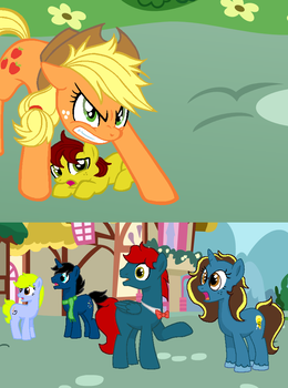 Pride of the Apples - 'THAT'S ENOUGH!!' by SummerSketch-MLP